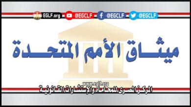 ميثاق الأمم المتحدة باللغة العربية